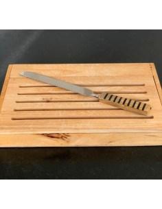 couteau à pain manche bois...