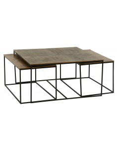 Table basse Ibiza (set de 3)