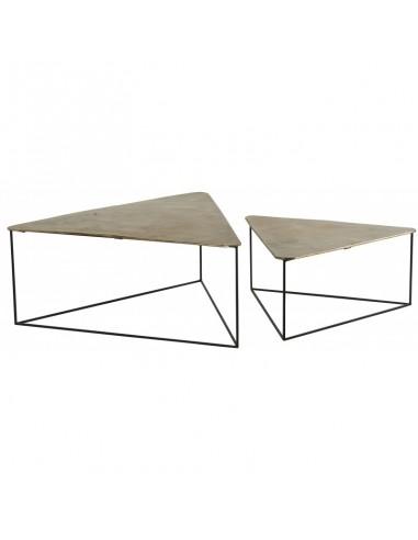 Table basse triangle ibiza (set de 2)