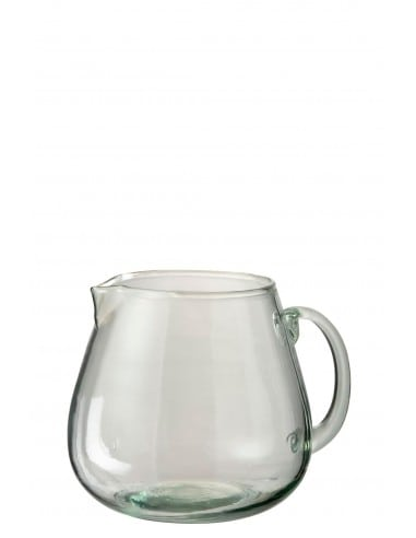 Carafe ella verre transparent grand modèle
