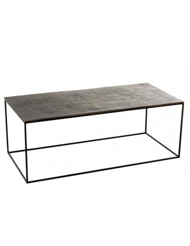 Table de salon rectangulaire antique