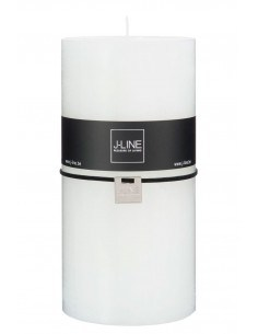 Bougie cylindrique blanc XXL - 140 heures