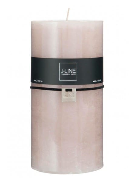 Bougie cylindrique gris XXL - 140 heures
