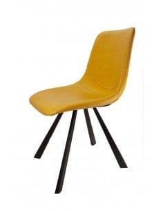 Chaise Lulea jaune