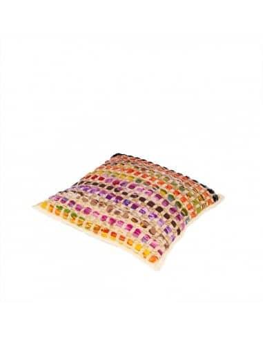 Coussin quadrado multicolore 45x45