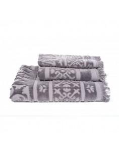 Serviette de bain sumatra harmony granit