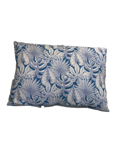 Coussin White Palm rectangle