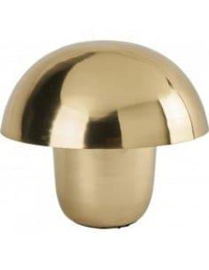 Lampe métal doré champignon...