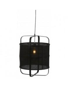 Suspension lustre en bambou...