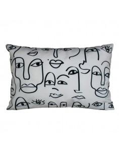 Housse de coussin Dakhla outdoor Harmony Textile ivoire 40x60