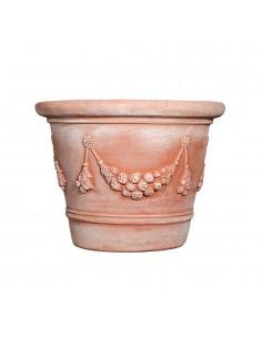 Vase italien en terre cuite...