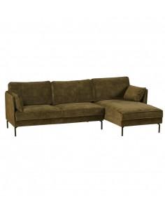 Canapé d'angle velours...