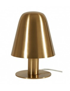 Lampe cloche dorée Brass...