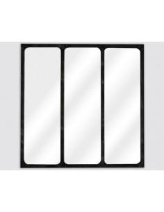 Miroir industriel 3 bandes...